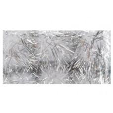 Помпоны с блестками White & Silver (1154 19)