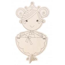 Деревянная раскраска Принцесса (9192-41)