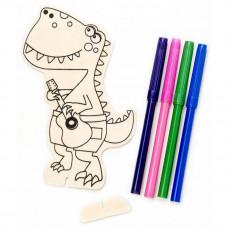 Деревянная раскраска Динозаврик (9191-663)