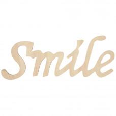 Фигурная надпись Smile (911 018)
