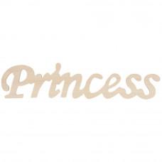 Фигурная надпись Princess  (911 030)