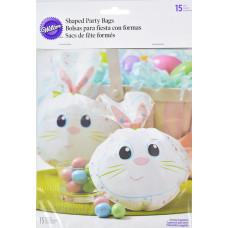 Пакеты для сладостей Сладкий зайчик, 15 шт.(W9732)