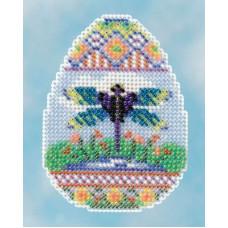Набор MillHill, Яйцо со стрекозой (MH181612)