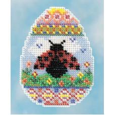 Набор для вышивания Mill Hill  Яйцо с божьей коровкой (H181615)