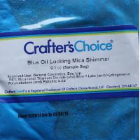 Мика косметическая Blue Oil Locking Mica Shimmer