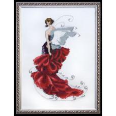 Набор бисера MillHill для дизайна Mirabilia Poppy - Pixie Couture Collection (NC123E)