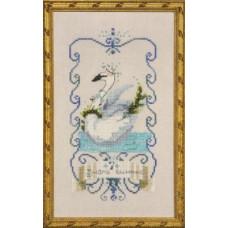 Набор бисера MillHill для дизайна Mirabilia Seven Swans A Swimming - 12 Days of Christmas (NC147E)