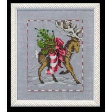 Набор бисера и украшений MillHill для дизайна Mirabilia Prancer - Christmas Eve Couriers (NC119E)