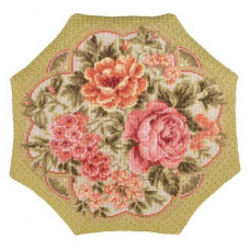Набор для вышивания крестом Риолис Подушка Вечерний сад (1558)
