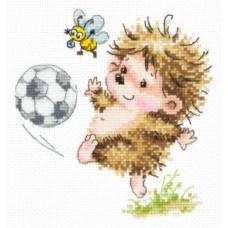 Набор для вышивания крестиком Чудесная игла Буду футболистом (19-11)