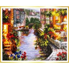 Набор для вышивания крестиком Чудесная игла Вечер в Венеции (46-02)