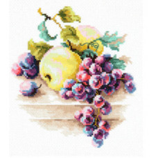 Виноград и яблоки (50-05)*