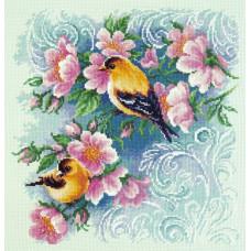 Набор для вышивания крестиком Чудесная игла Красивый роман (64-08)