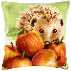 Подушка Ежик с яблоками (V0155865)