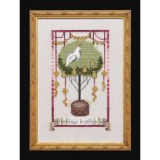 Набор бисера MillHill для дизайна Mirabilia Partridge in a Pear Tree - 12 Days of Christmas (NC141E)