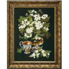 Набор для вышивания крестиком Чарівна мить Жасминовый чай (М-206)