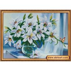 Белые лилии (AB-335)
