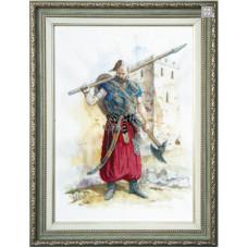 Набор для вышивания крестиком Чарівна мить Казак - победитель (РК-062)