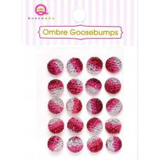 Украшения Ombre Goosebumps красные, 20 шт.(TW18 45)