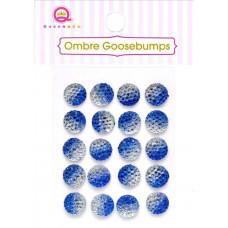 Украшения Ombre Goosebumps голубые, 20 шт.(TW18 46)