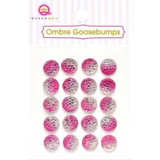 Украшения Ombre Goosebumps розовые, 20 шт.(TW18 47)