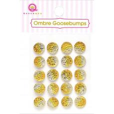 Украшения Ombre Goosebumps желтые, 20 шт.(TW18 49)