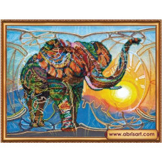 Мозаичный слон (AB-368)
