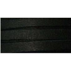 Шнур кожаный плоский Deerskin Lace, черный (DOS31602 1000)