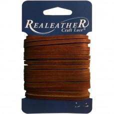 Шнур кожаный Latigo Lace, коричневый (ROC04 0215)