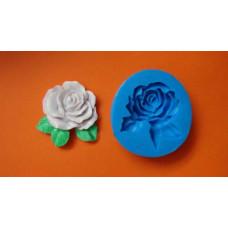 Силиконовый молд Роза 11 (597)