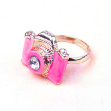 Кольцо Only Камера, розовое (2004)