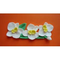Силиконовый молд Орхидеи ветка (604)