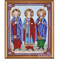 Святые мученики Гурий, Авив и Самон (AB-422)
