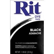 Краска для ткани Rit Dye Powder, черная (3 15)