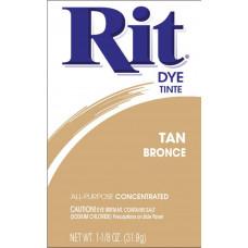 Краска для ткани Rit Dye Powder, цвет загара (3 16)