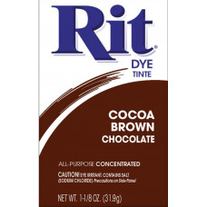 Краска для ткани Rit Dye Powder, цвет коричневое какао (3 20)