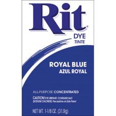 Краска для ткани Rit Dye Powder, синяя королевская (3 29)