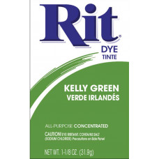Краска для ткани Rit Dye Powder, зеленая (3 32)