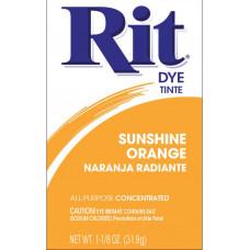 Краска для ткани Rit Dye Powder, ярко-оранжевый (3 43)