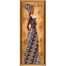 Африканка с лилией (НД2077)