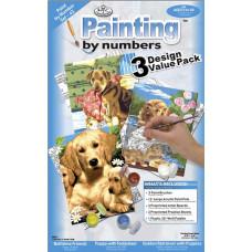 Собаки, 3 шт.(PBNVLPK 43)