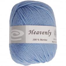 Пряжа чистошерстяная, 100% меринос, 50г, 88 метров, Sky Blue (Q52-50 325)