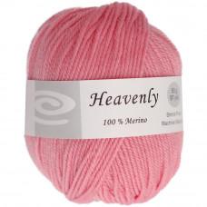 Пряжа чистошерстяная, 100% меринос, 50г, 88 метров, Rose Pink (Q52-50 823)