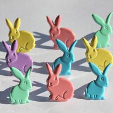 Брадсы Пастельные кролики (QBRD 115B)