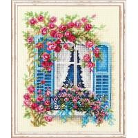 Набор для вышивания крестиком Чудесная игла  С видом на море (74-01)