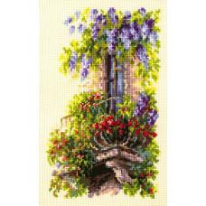 Набор для вышивания крестиком Чудесная игла Балкон возлюбленной (74-05)