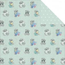 Картон двусторонний Royal Teddy (C70004)