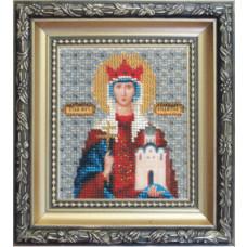 Икона святая мученица Людмила (Б-1041)