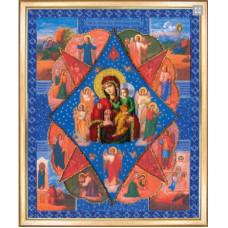 Икона Неопалимая купина (Б-1090)