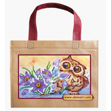 Набор-сумка Сова и крокусы (ACA-003)